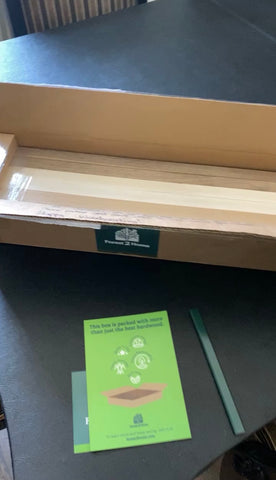 Forest 2 Home premium hardwood lumber unboxing of Cherry wood, Hard Maple wood and Walnut wood