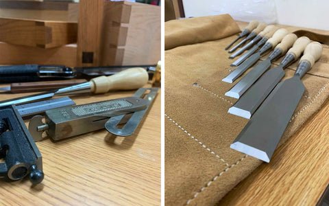 Woodworking hand tools including chisels, files, rulers and more. Perfect for anyone looking to improve their woodworking joinery or skills in the woodshop