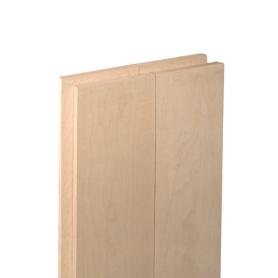 "Forest 2 Home - Hard Maple 1 in x 6 in x 72"" hardwood"