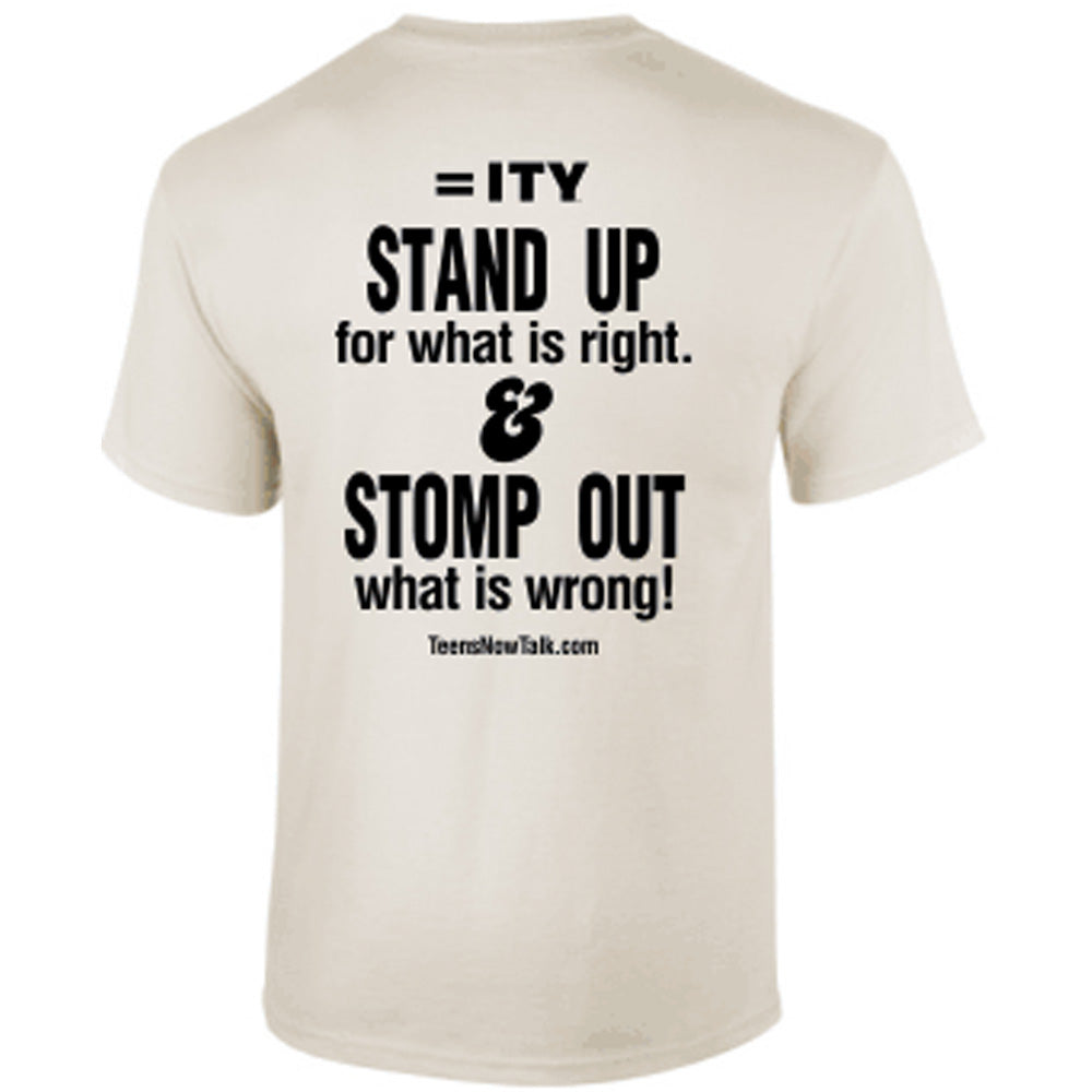 Stomp Out Poverty Tee
