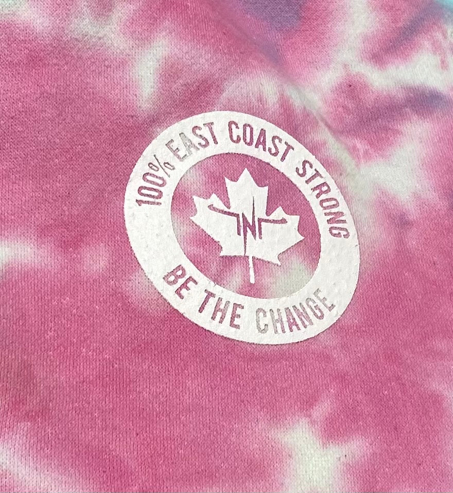 Tie Dye Be The Change Hoodie
