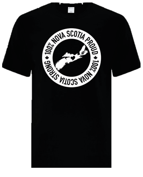 100% Nova Scotia Proud & Strong Tee