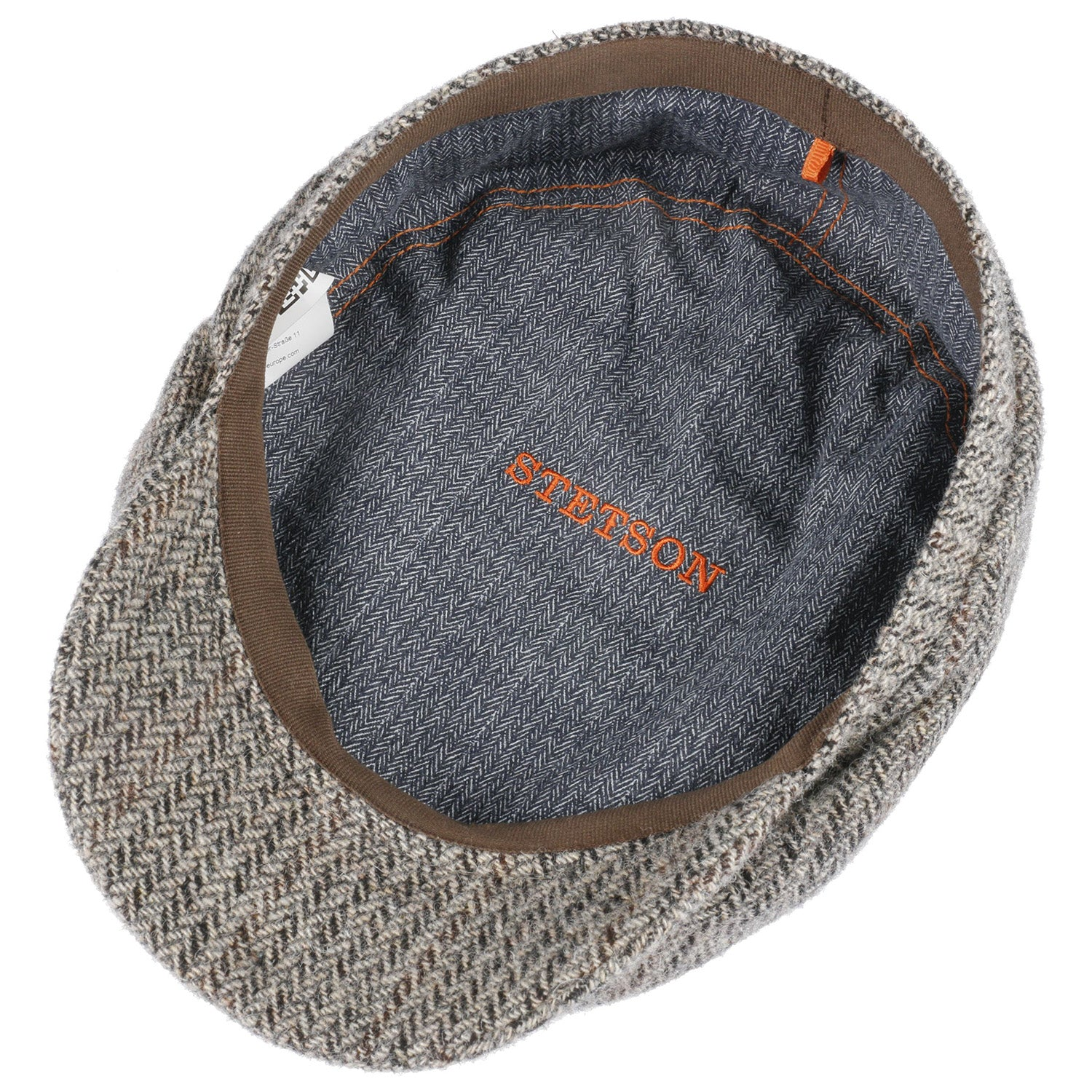 Stetson Hastings Virgin Wool Flat Cap