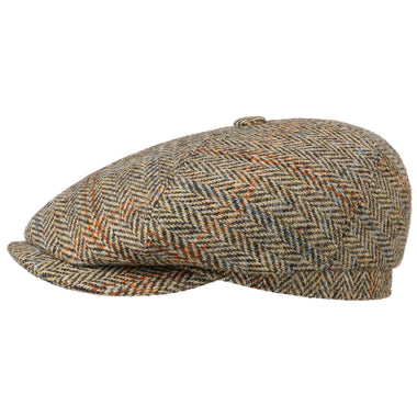 Stetson Harris Tweed Flat Cap (6-Panel)