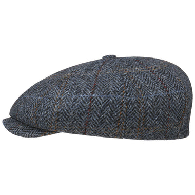 Stetson Harris Tweed Hereford Newsboy Cap (8-Panel)