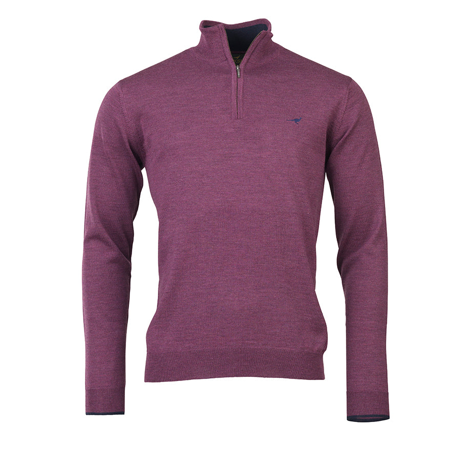 Laksen Sporting Norfolk 1/4 Zip - Brun