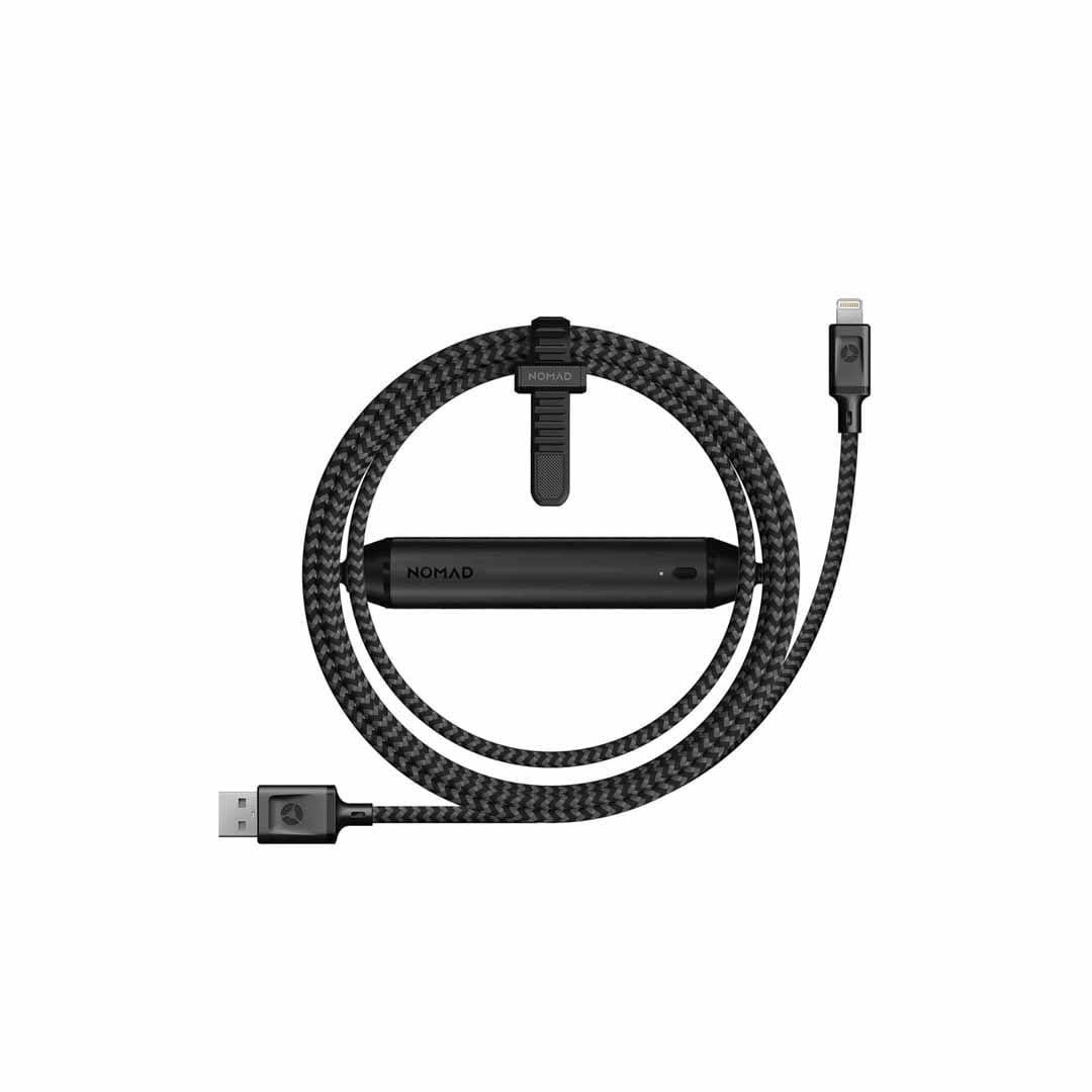 NOMAD - Battery Cable 1.5m - Lightning - Netnaturshop
