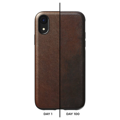 NOMAD - RUGGED CASE - V2 | RUSTIC BROWN LEATHER | IPHONE XS MAX - Netnaturshop