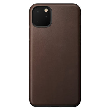 NOMAD - RUGGED LEATHER CASE FOR IPHONE 11 PRO MAX RUSTIC BROWN
