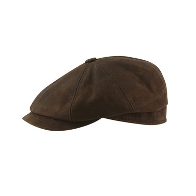 MJM Hatte - Artist Blue Line – Nappa Wax (Brown Leather) - Netnaturshop