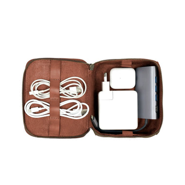 Drakensberg Full Leather - Tech Kit - Brown (Large) 1,5 liter