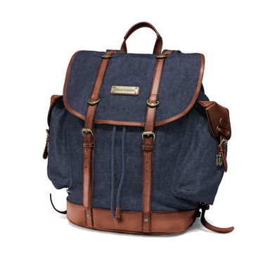 KIMBERLEY - Backpack - Denim Blue - Netnaturshop