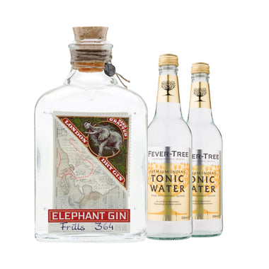 Elephant Gin & 2 Fever Tree Tonic 50 cl