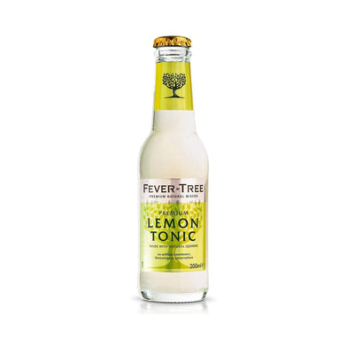 Fever-Tree: Lemon Tonic 200 ml x 12 stk - Netnaturshop