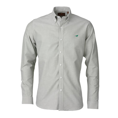 Laksen Sporting Harvard Oxford Shirt - Herb Green