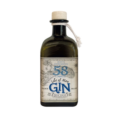 Isle of Møn Navy Strength Gin 58%, 500 ml - Netnaturshop