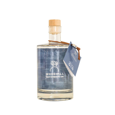 Woodhill Navy Strength Gin 500 ml, 57,1% - Netnaturshop