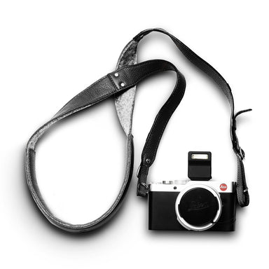 Woolnut Camera Strap - Black - Netnaturshop