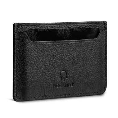 Woolnut Card Holder - Black