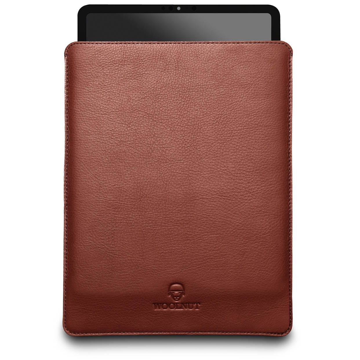 Woolnut iPad Pro 11-inch Sleeve - Cognac Brown (1 og 2 generation) 2018-2020 - Netnaturshop