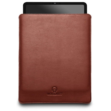 Woolnut iPad Pro 12.9-inch Sleeve - Cognac Brown (3 og 4 generation) Sen 2018-2020