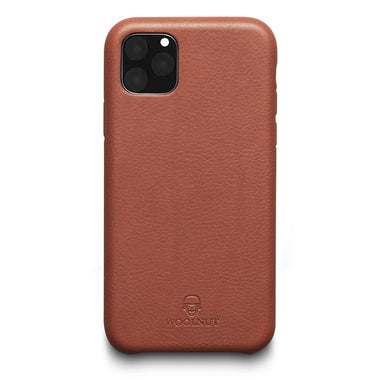 Woolnut iPhone 11 Pro Max Case - Cognac Brown