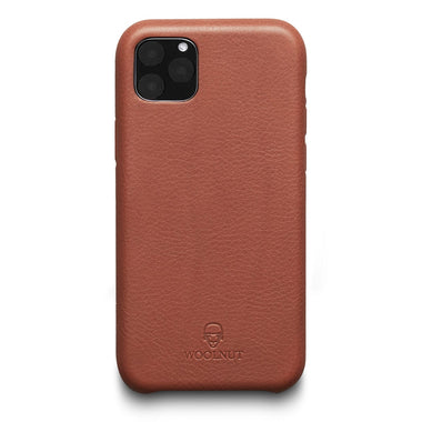 Woolnut iPhone 11 Pro Case - Cognac Brown