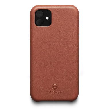 Woolnut iPhone 11 Case - Cognac Brown