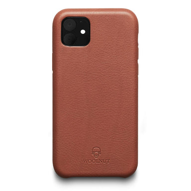 Woolnut iPhone 11 Case - Cognac Brown - Netnaturshop