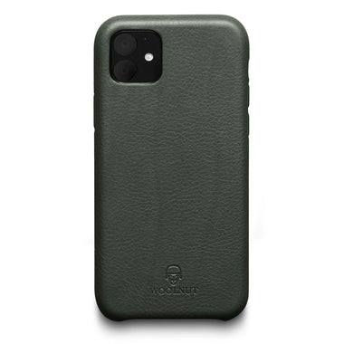 Woolnut iPhone 11 Case - Racing Green