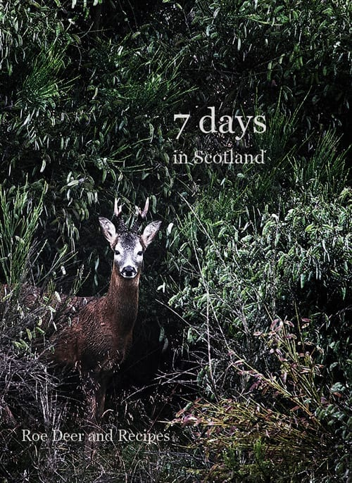 "Nils J. Eilersen ""7 days in Scotland - Roe Deer and Recipes"" - Netnaturshop"