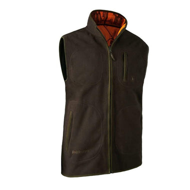 Deerhunter Gamekeeper Bonded Fleece Vest (Vendbar)