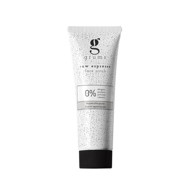 GRUMS Raw Face Espresso Scrub (80 ml) - Netnaturshop