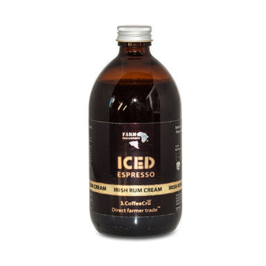 Farm Mountain Iced Espresso Irish Rum Cream, 16 shots - 0,5 L - Netnaturshop