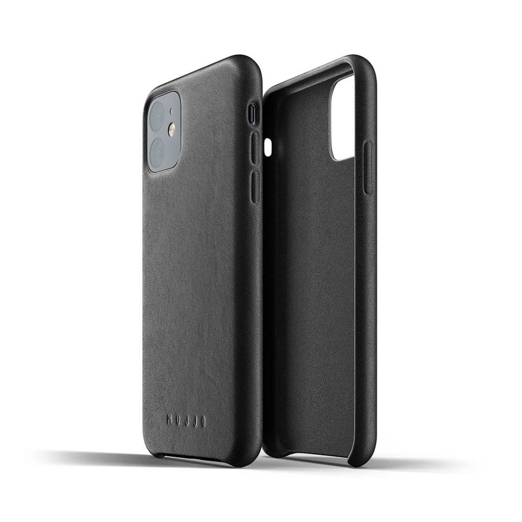 Mujjo Full Leather Case til iPhone 11 - Netnaturshop