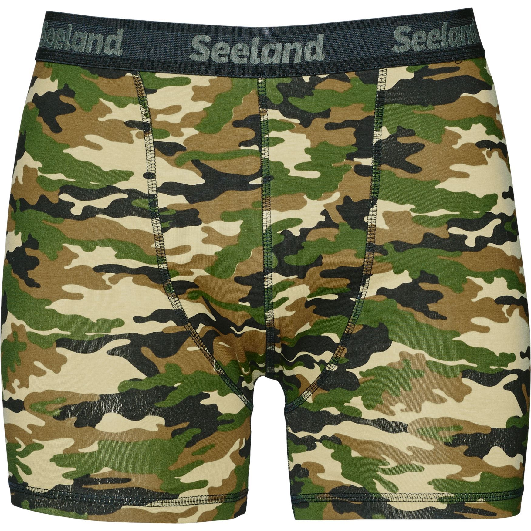 Seeland Seeland 2 pack boxer shorts Camo/Forest night - 3XL