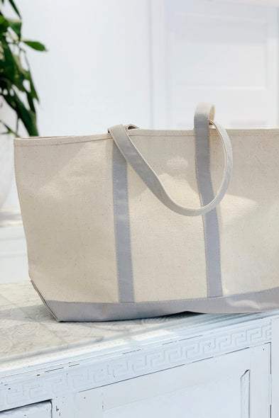 Flannel Canvas Tote