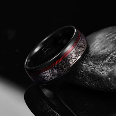 Chrono - The Ring Shop - Ring - Carbide, female, male, Ring