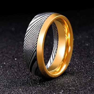 Regal - The Ring Shop - Ring - Damascus, male, Ring, royal