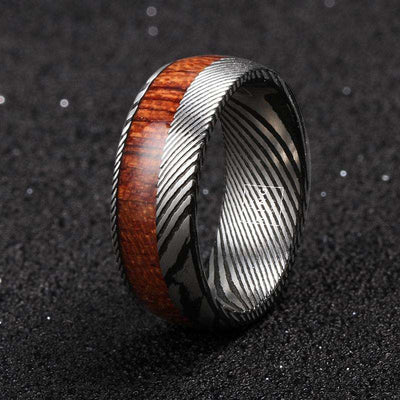 Timberland - The Ring Shop - Ring - Damascus, male, Ring, royal