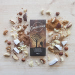 CONSCIOUS CHOCOLATE ORGANIC FOUR NUTS 30G
