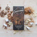 CONSCIOUS CHOCOLATE ORGANIC THE DARK SIDE 75% 30G