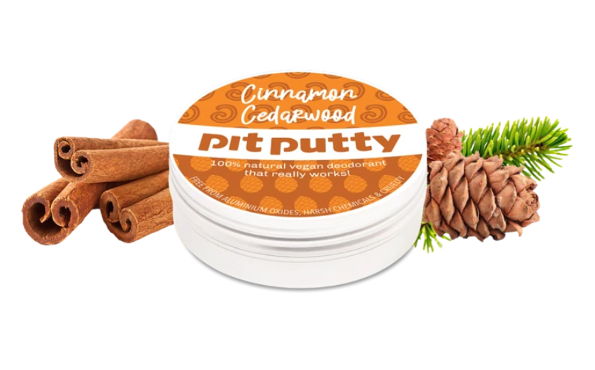 CINNAMON CEDARWOOD PIT PUTTY DEODORANT - MINI 15G