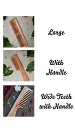 NEEM WOOD HAIR COMB