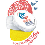 EARTH CONSCIOUS NATURAL GRAPEFRUIT & LEMON DEODORANT TIN 60G