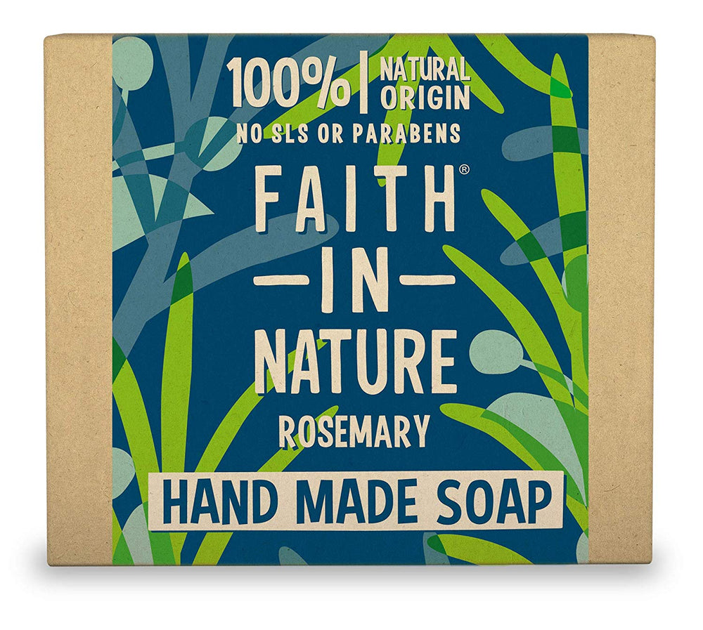 FAITH IN NATURE - ROSEMARY SOAP100G