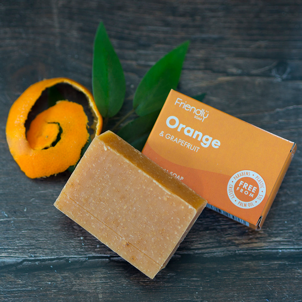 FRIENDLY SOAP ORANGE & GRAPEFRUIT SOAP BAR