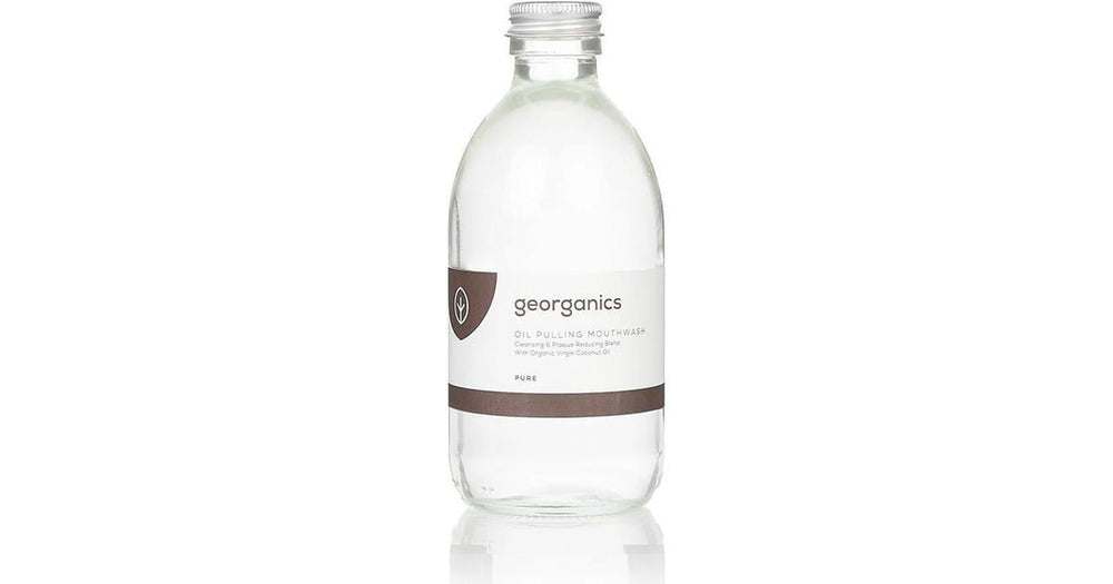 GEORGANICS OIL PULLING MOUTHWASH TEA TREE 275ML