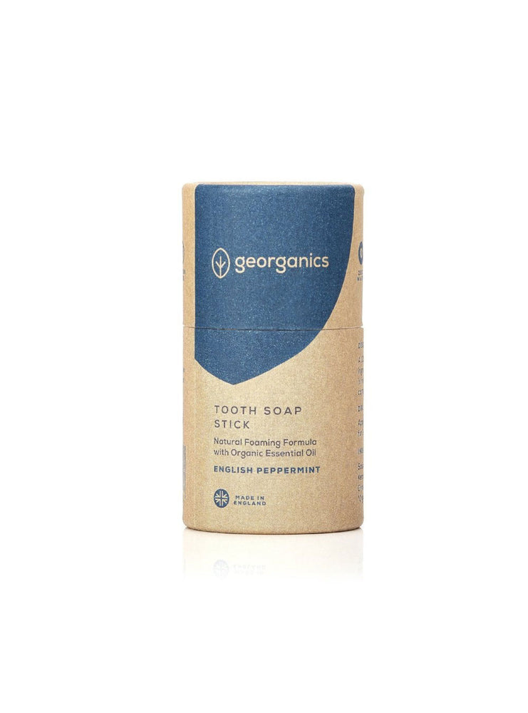 GEORGANICS TOOTHSOAP – ENGLISH PEPPERMINT