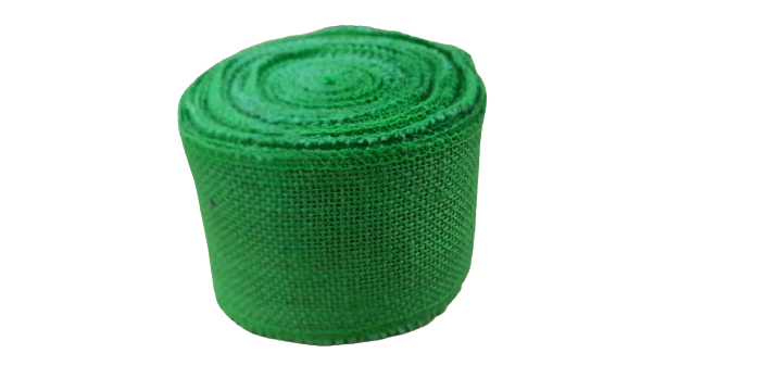 Jute Ribbons  - Green